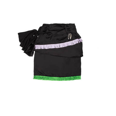 YOUTHS IN BALACLAVA Crows Wrap Skirt - Black