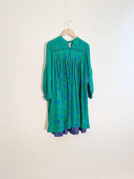 Injiri Shekhawati 14 Silk Dress - Tie Dye