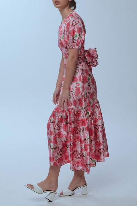 baaby Limited Edition Silk Frou Frou Skirt - Pink Floral