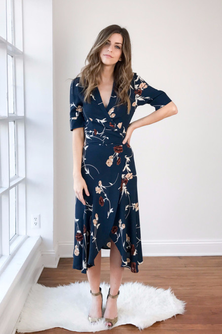 Ganni Dalton Crepe Dress