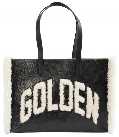 Golden Goose California Logo Bag - Black
