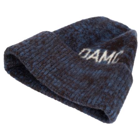 OAMC WOOL LOGO BEANIE - Navy blue