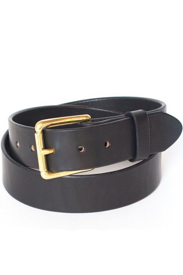 Wood&Faulk Standard Belt Black