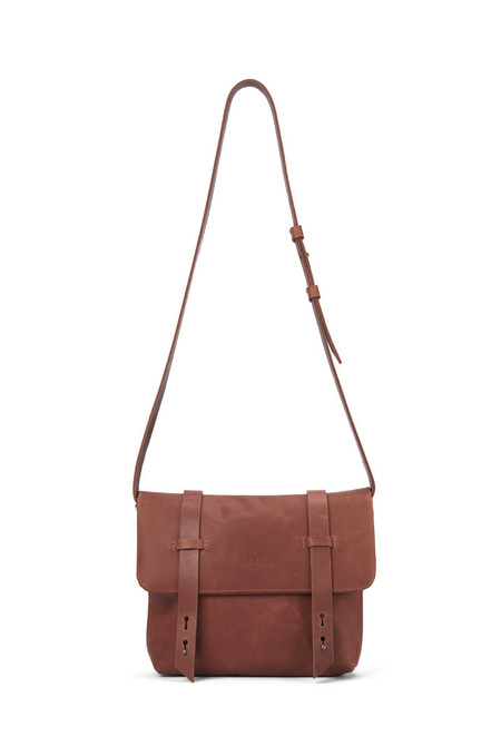 Lowell BERCY COGNAC NAPPA LEATHER