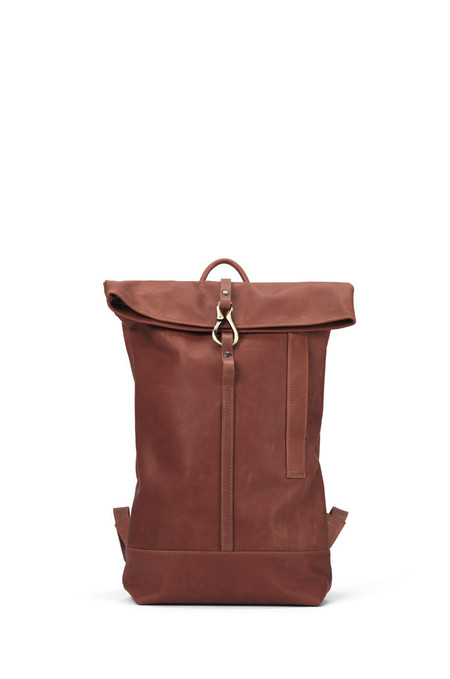Lowell WAVERLY COGNAC NAPPA LEATHER