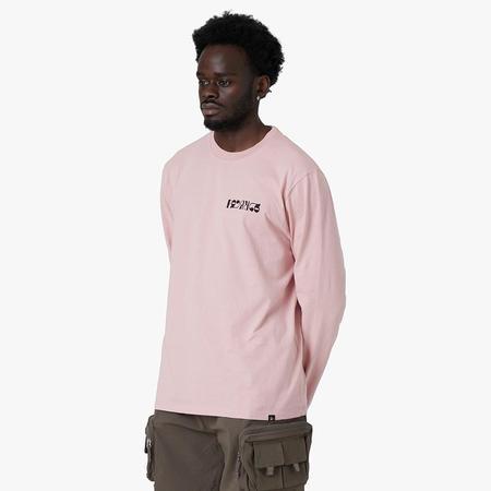 by Parra Mandinka Long Sleeve T-shirt - Zephyr Pink