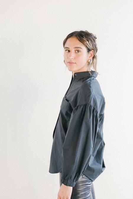 Rails Winnie Long Sleeve Button Down - Black