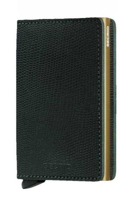 SECRID Slim Wallet - Rango Green Gold