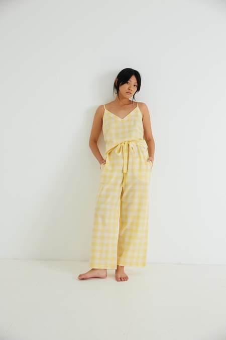 General Sleep Paloma SeT - Yuzu Gingham