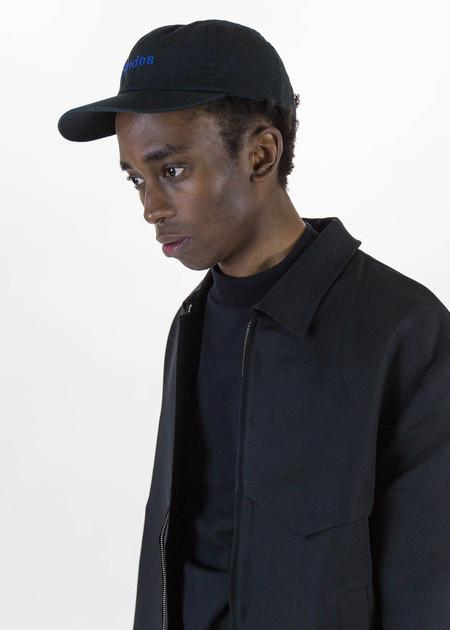 Etudes Still Black Adjustable Cap