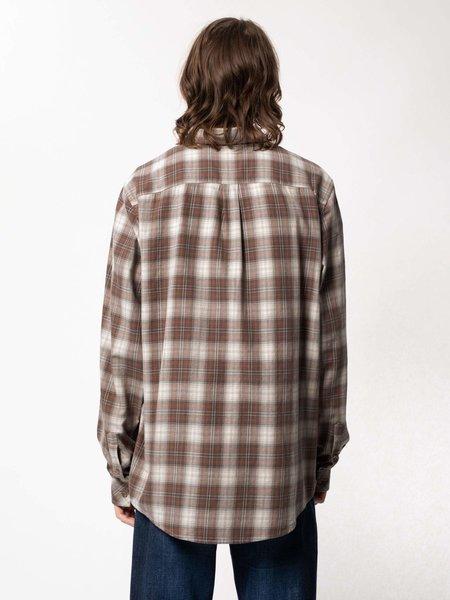 Nudie Jeans Chuck Twill Shirt - Hazel Plaid