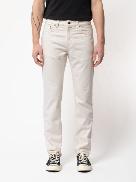 Nudie Jeans Gritty Jackson Jeans - Dusty White