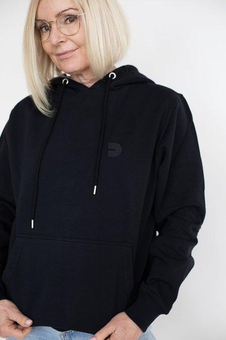 UNISEX Danali Logo Hoodie SWEATER - BLACK
