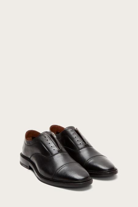 Frye Paul Bal Oxford - BLACK