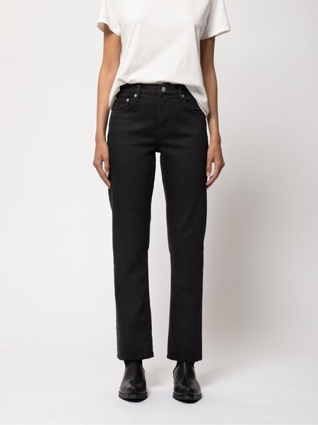 Nudie Jeans Straight Sally denim - Ever Black
