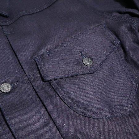 KATO The Blade 14oz Shirt - Blue Black Raw