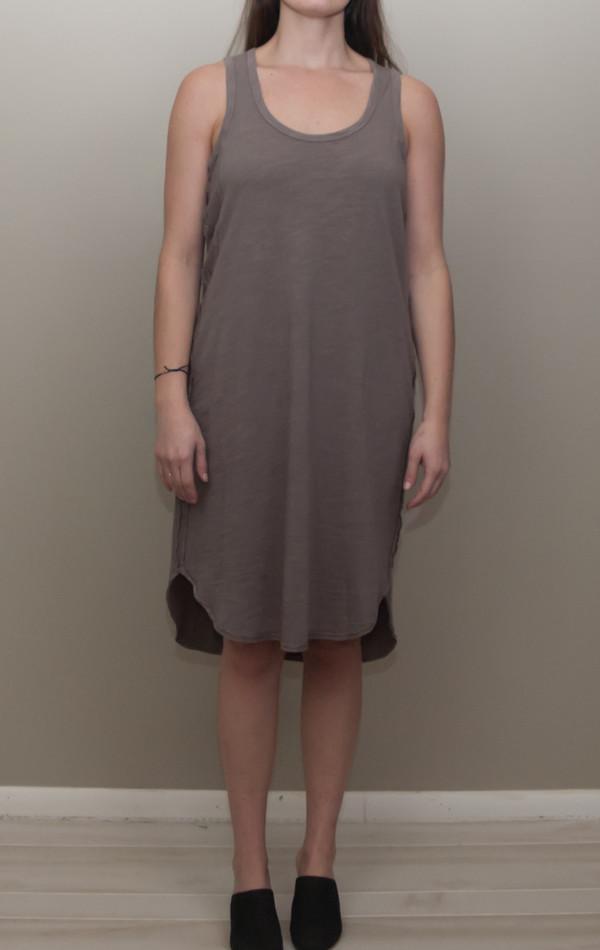 Heather scoop neck tank dress