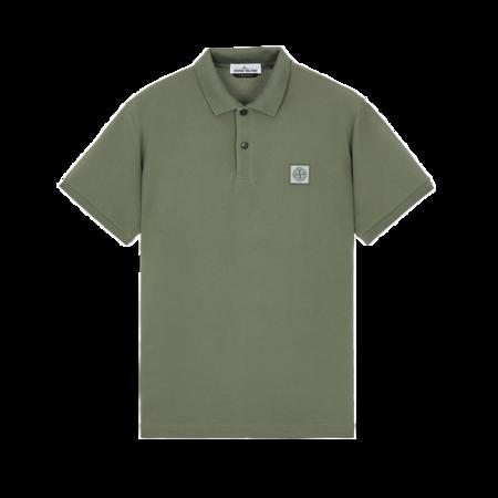 Stone Island Polo Shirt - Sage Green