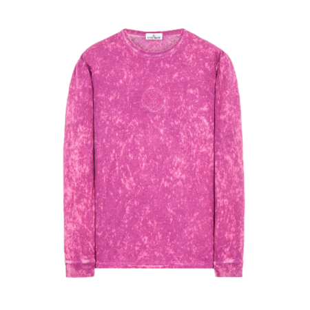 Stone Island Off-Dye Men MO751520245-V0045 t-shirt - Magenta