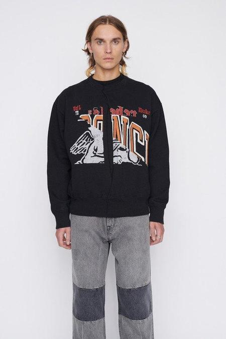 Our Legacy Split Base Sweater - Collage School Print