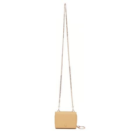 OAD Mini Zip Chain Wallet - Butterscotch