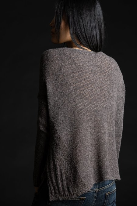 Paychi Guh Dreamy Reversible Pullover - Musk Chocolate