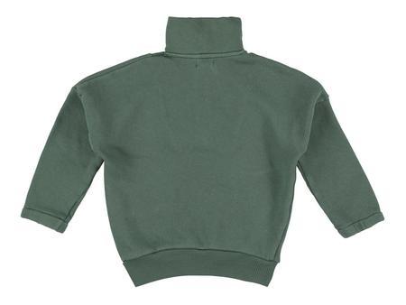 Kids morley omen sweatshirt - cilantro