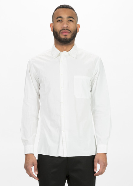 Sage de Cret Off-Center Button Up Shirt