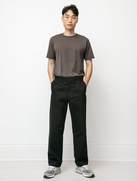 Norse Projects Lukas Heavy Chino - Black