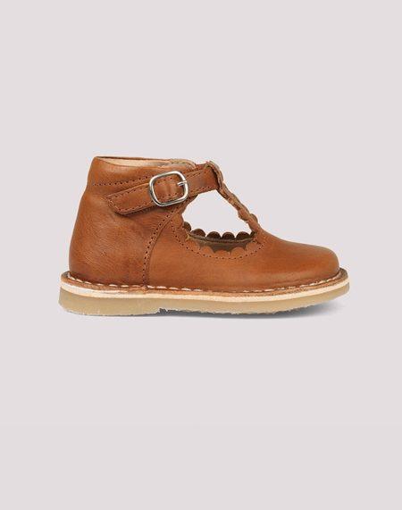 kids Petit Nord T Bar Scallop Shoe
