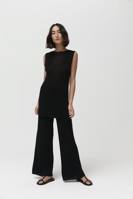 St. Agni Zola Knit Pant - Black
