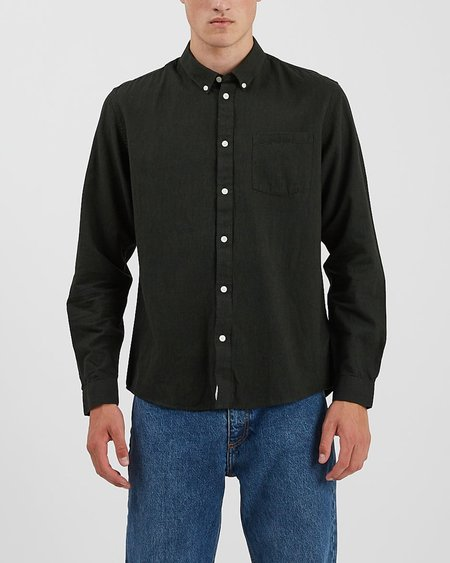 Minimum Jay 2.0 Shirt 0063 - Racing Green Melange