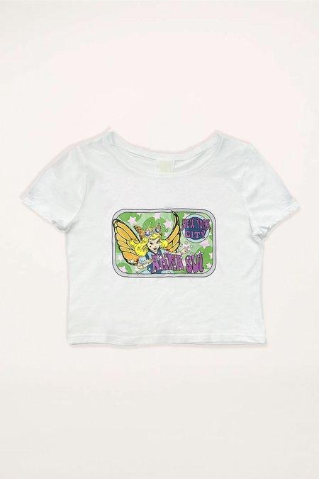 Anna Sui Fairy Baby Tee - Teal