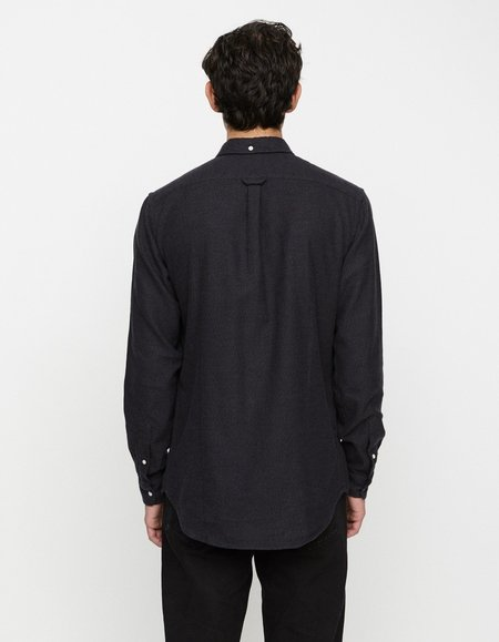 Schnayderman's BD Flannel Shirt - Charcoal Melange