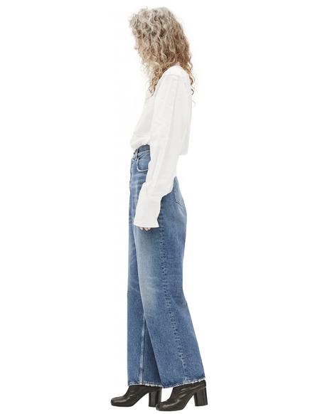 Golden Goose Straight Leg Jeans - Navy Blue