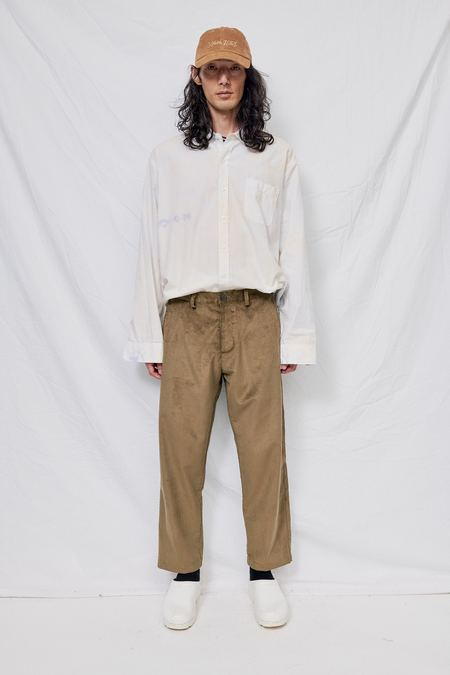 Assembly Corduroy Crop Pant - Olive