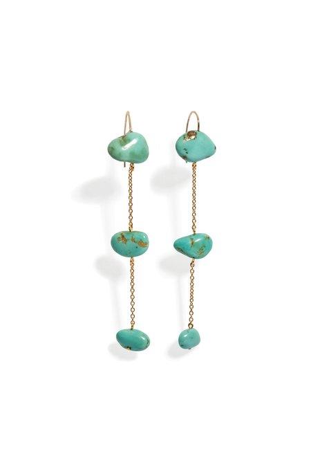 Lizzie Fortunato Ionian Earrings - Gold