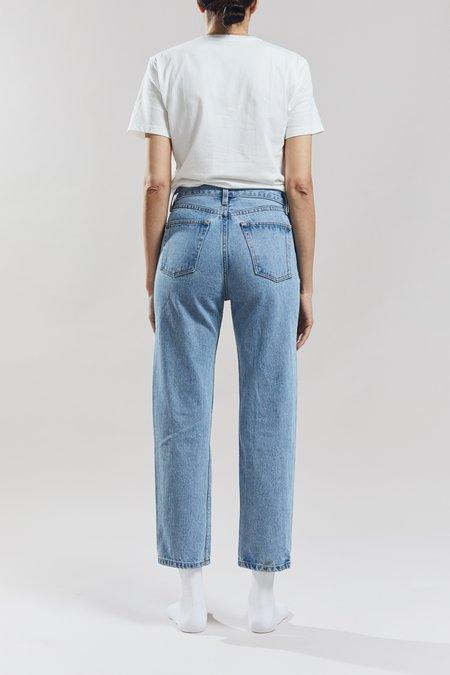 Still Here New York Tate Crop Original Jeans - Vintage Blue