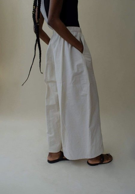 Nin Studio Swirl Comfort Pant - Ivory