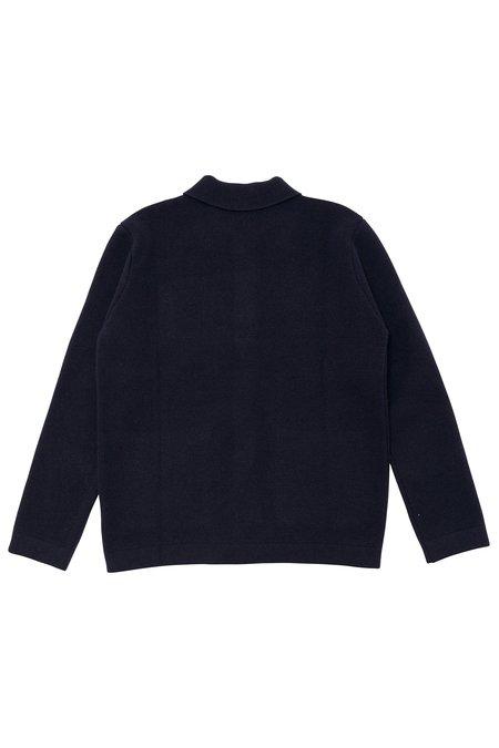 Country of Origin Knit Chore Jacket - Navy