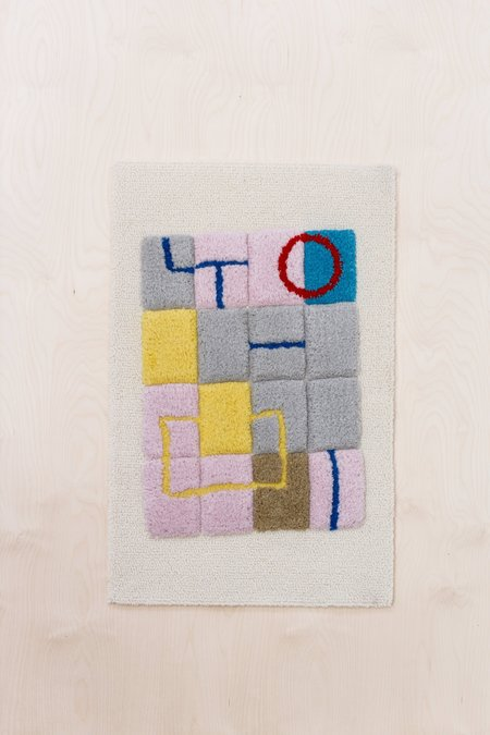 Country of Origin Tufted Wall Hanging #7