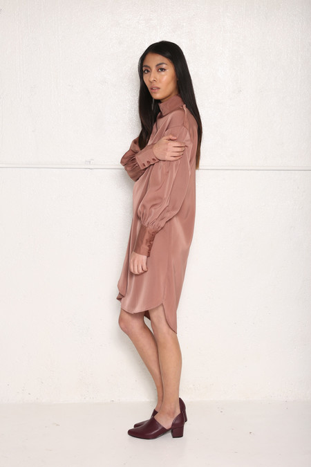 Intentionally Blank AGAR Shirt Dress