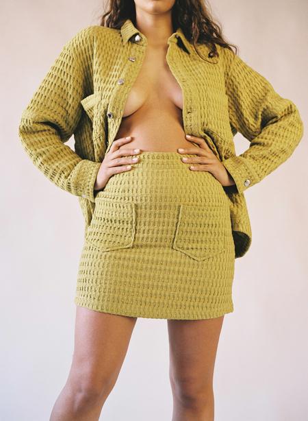 Aniela Parys Miriam Waffle Skirt