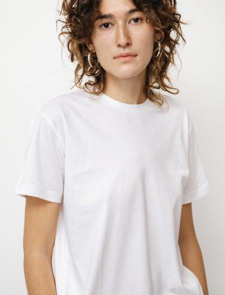 Sunspel Boy Fit Crew Neck T-Shirt - White