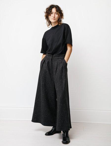 Dusan High Waist Pants - Charcoal