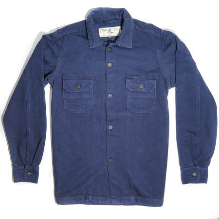Rogue Territory Infantry Shirt - Navy Overdyed