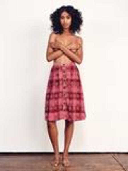 Carver Skirt - Damask