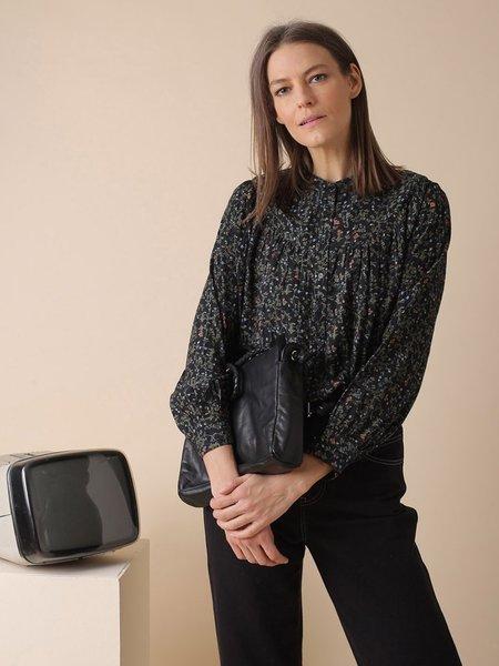 Indi & Cold Digital Print Shirt - Black
