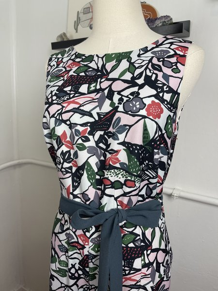 [pre-loved] Ted Baker Floral Jumpsuit - mauve multi