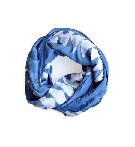 Block Shop Textiles Block Shop Indigo Saddle Blanket Scarf